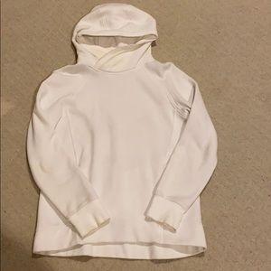 Lululemon Cotton Blend White Hoodie